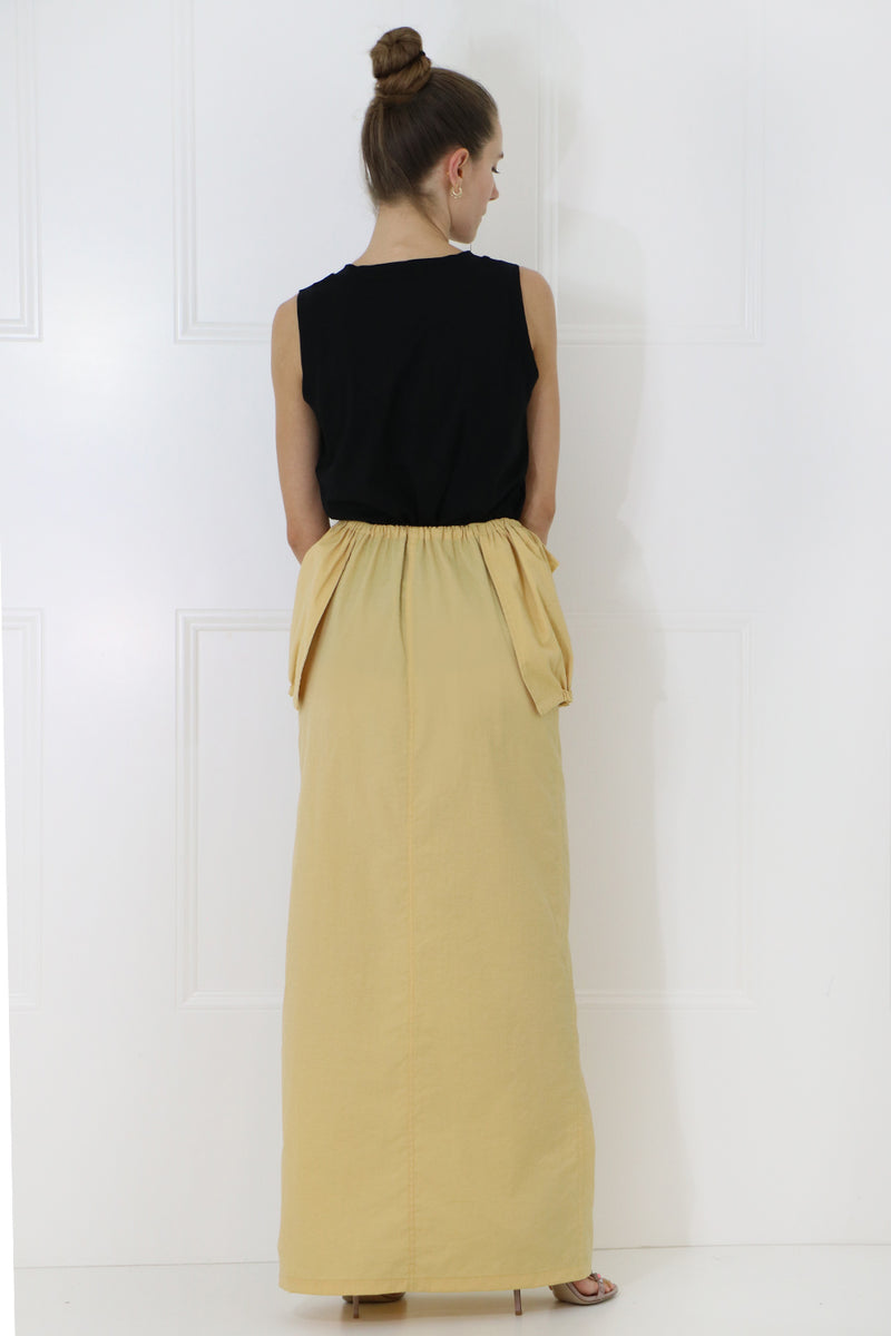 LA CUEILLETTE SKIRT YELLOW