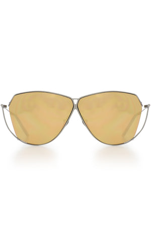 S2 SUNGLASSES GREY/GOLD