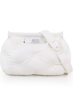 GLAM SLAM QUILTED BAG WHITE