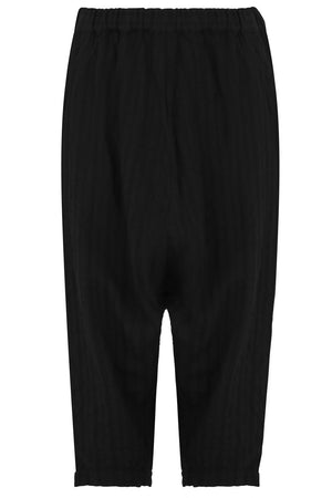 SUPER DROP CROTCH PANT BLACK