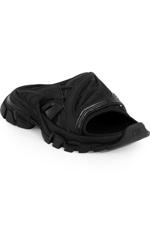 TRACK SLIDE SANDAL BLACK