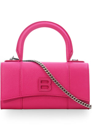 HOURGLASS WALLET ON CHAIN FUCHSIA