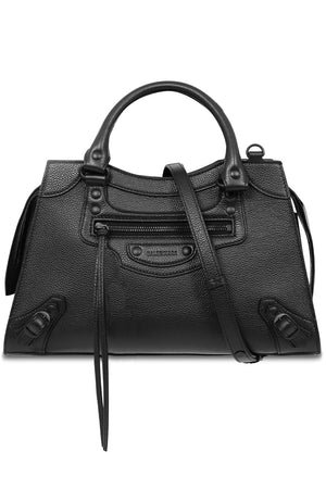 NEO CLASSIC SMALL BAG GRAINED BLACK