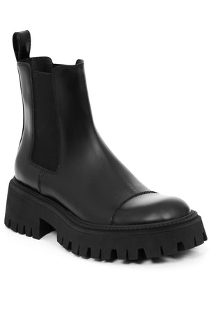 TRACTOR CHELSEA BOOTS 20MM BLACK