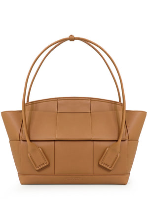 MEDIUM ARCO 48 BAG GRAINED LEATHER CARAMEL