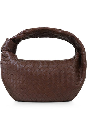 SMALL JODIE BAG WOVEN LEATHER BARK