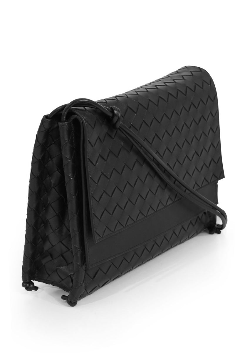 MEDIUM BV FOLD BAG BLACK