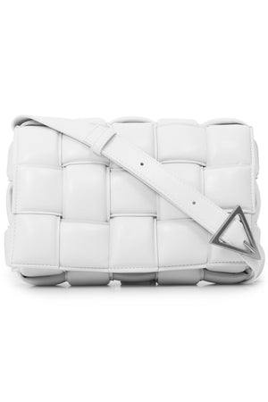PADDED CASSETTE BAG WHITE