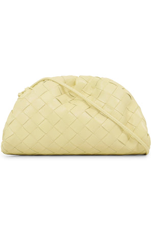 THE POUCH 20 WOVEN LEATHER ICE CREAM