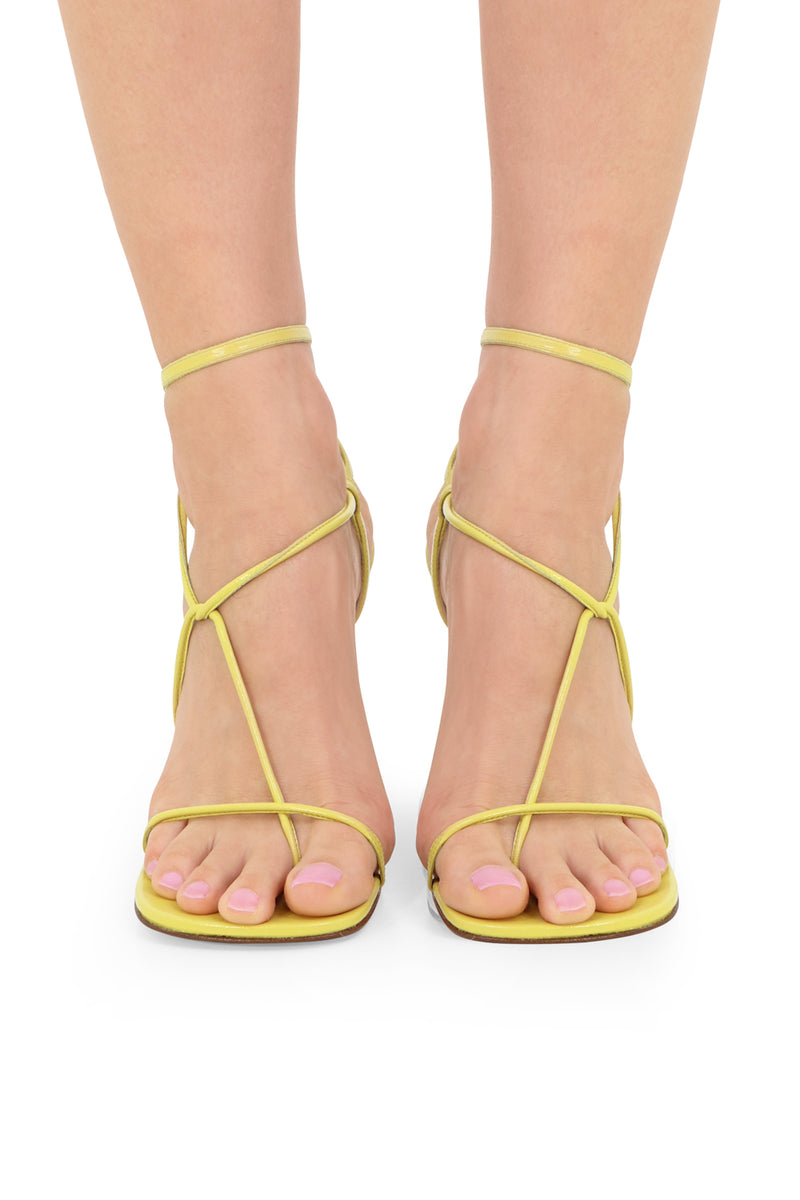 LINE SANDALS 90MM PEAR