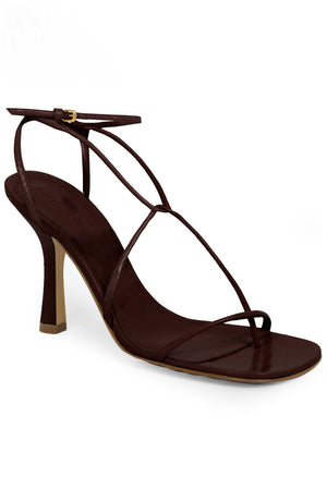 LINE SANDALS 90MM CHOCOLATE