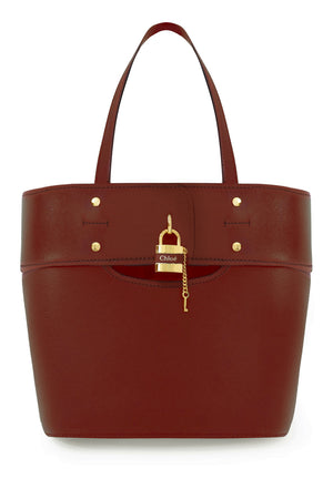 SMALL ABY TOTE BAG SEPIA BROWN