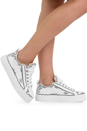 ANIMATED LAUREN SNEAKER WHITE