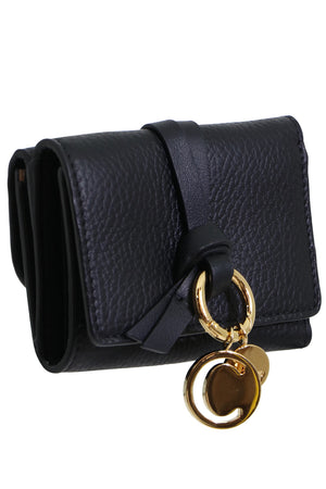 ALPHABET WALLET BLACK