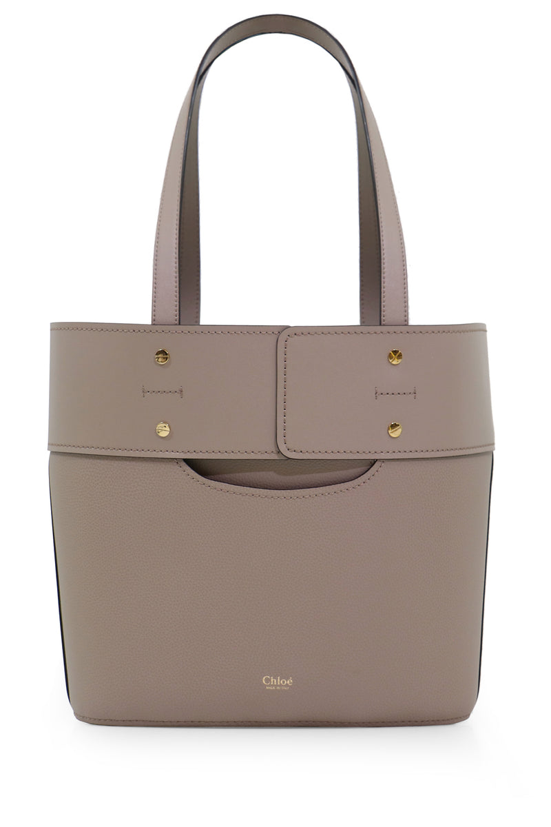 SMALL ABY TOTE BAG MOTTY GREY