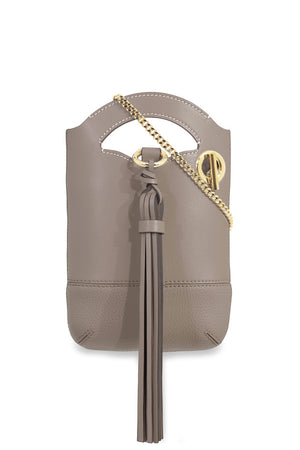 WALDEN SMALL CHAIN BAG MOTTY GREY