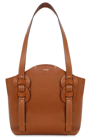 SMALL DARRYL TOTE BAG CARAMEL