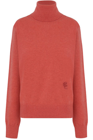 TURTLENECK KNIT L/S TENDER PINK