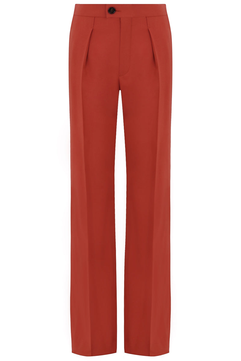 FLARED PANT BAROQUE ORANGE