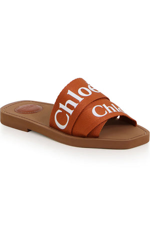 WOODY LOGO SLIDE ARIZONA BROWN
