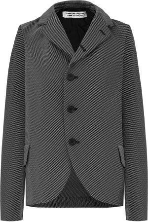 HERRINGBONE JACKET BLACK/WHITE