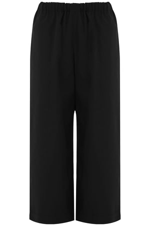 STRAIGHT LEG CROP PANT BLACK