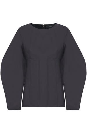 TEIDE FULL SLEEVE TOP L/S BLACK