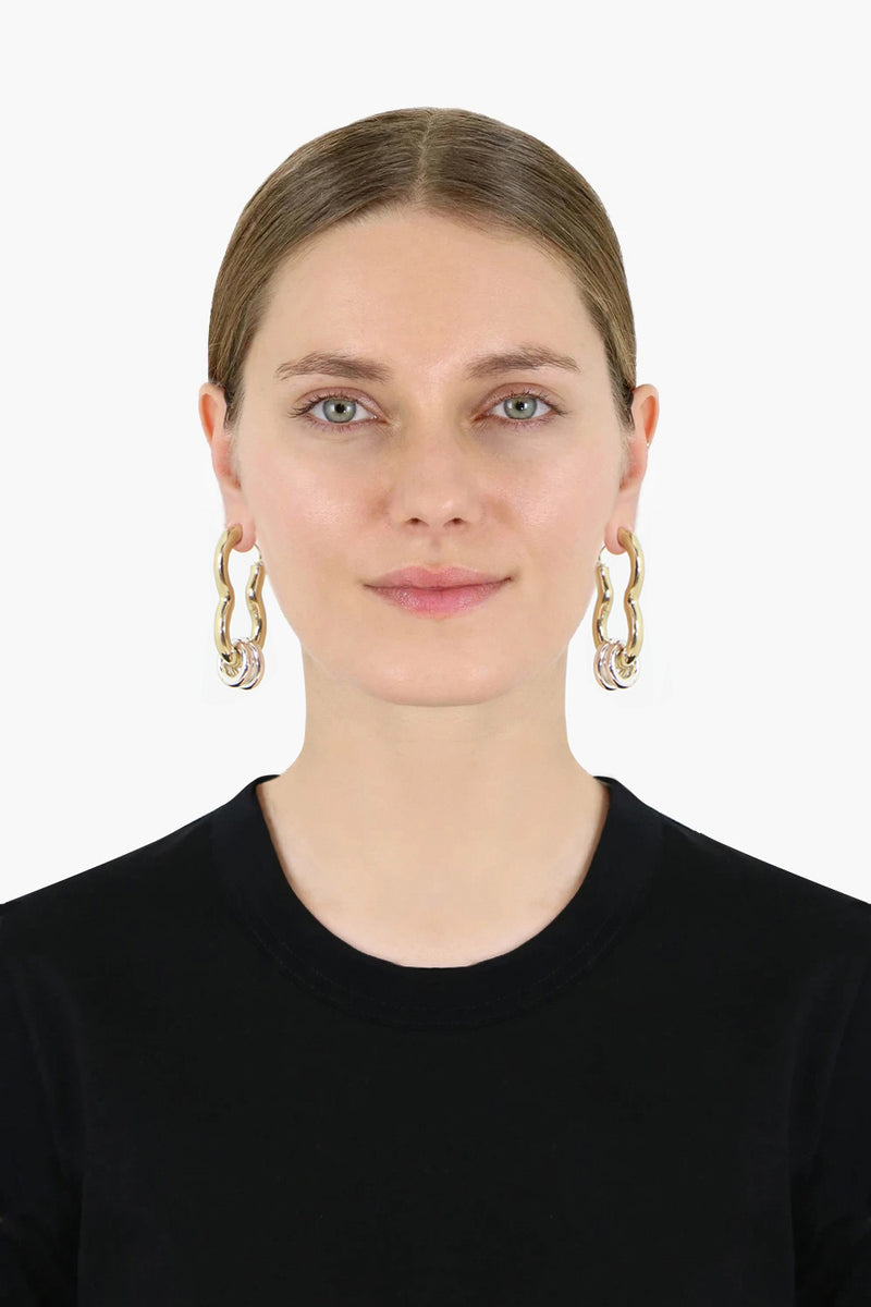 RIDDEN CASHEW EARRINGS GOLD