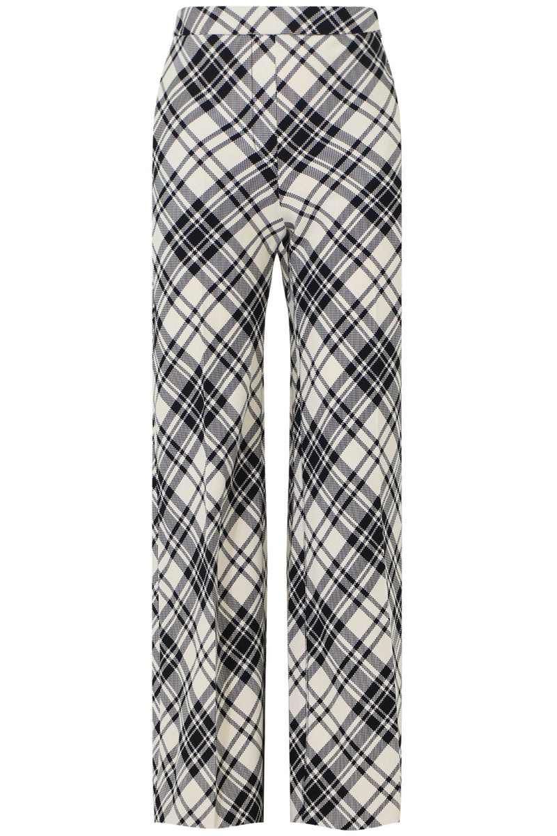 AMERICA AMERICA CHECK PANT BLACK/WHITE
