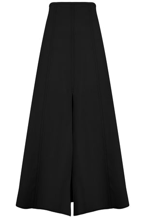 GULLIVER SPLIT SKIRT BLACK