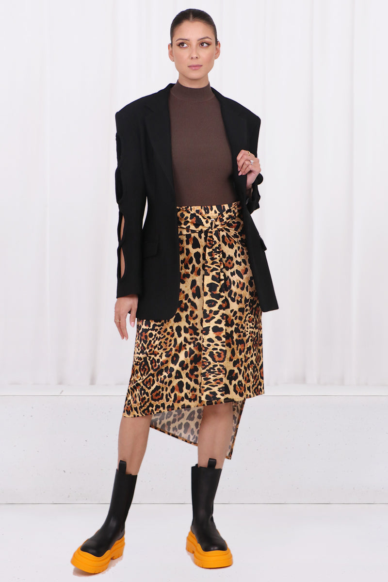 FROSTED SHIRT DRESS S/LESS SNOW