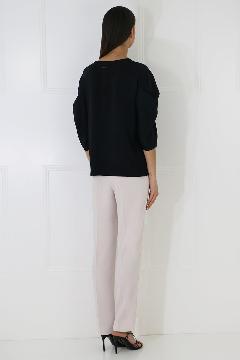 RELAXED SLIM LEG PANT POWDER