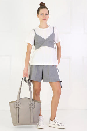 DARRYL TOTE BAG STORMY GREY