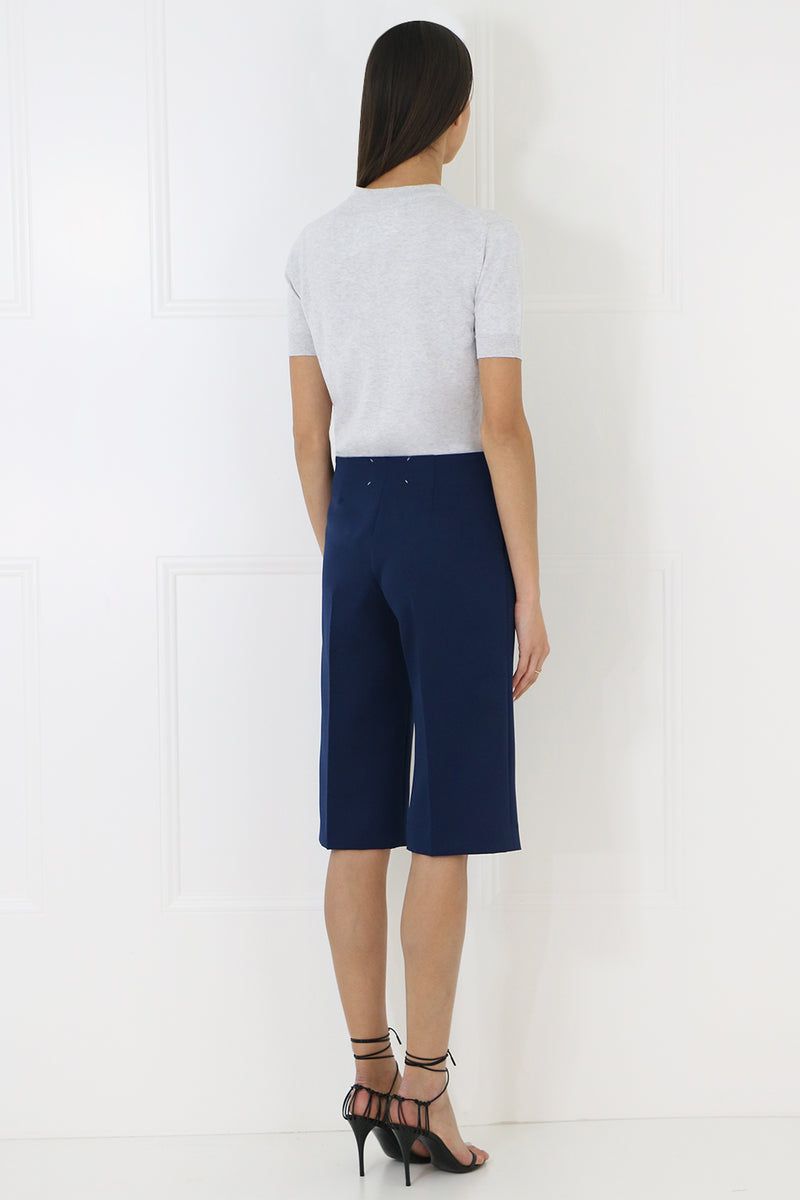 TAILORED SHORTS BLUE