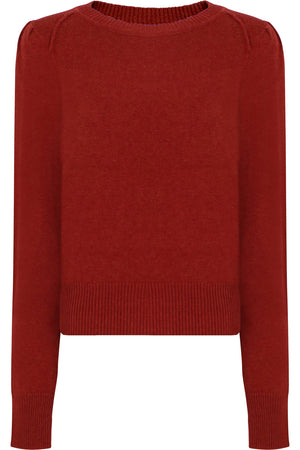 ETOILE KLEELY KNIT L/S RUST
