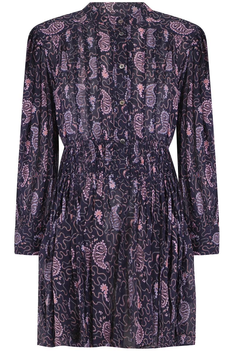 ETOILE ANACO MINI DRESS L/S FADED NIGHT