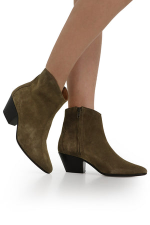 DACKEN SUEDE ANKLE BOOT TAUPE
