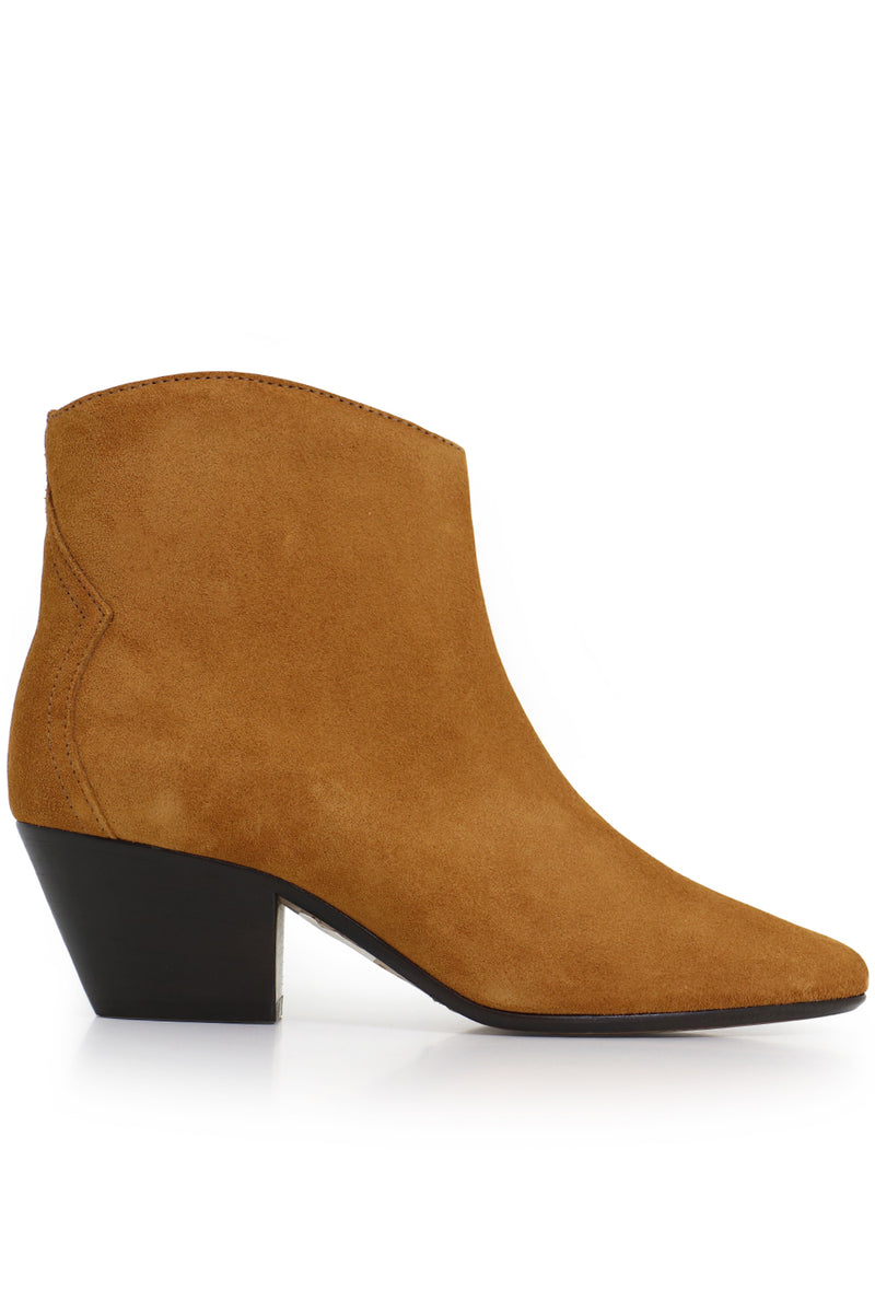 DACKEN SUEDE ANKLE BOOT COGNAC