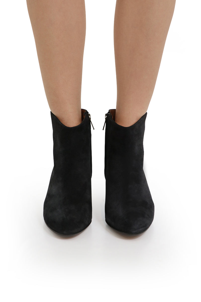 DACKEN SUEDE ANKLE BOOT FADED BLACK
