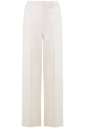 STEVE WIDE LEG PANTS ECRU