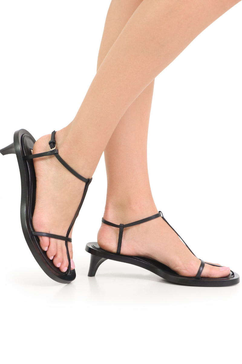 CAGE SANDAL 45MM BLACK