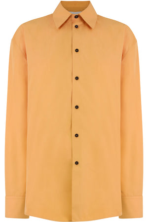 POINTED COLLAR SHIRT L/S APRICOT
