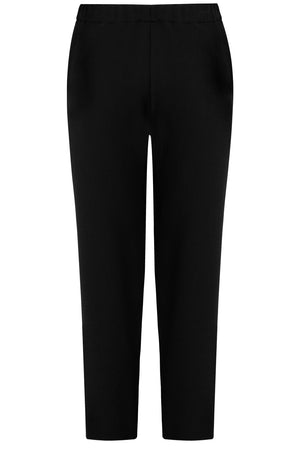 TISSUE NARROW CROP PANT BLACK