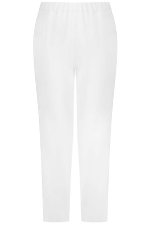 TISSUE NARROW CROP PANT IVORY