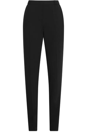 SLIM LEG FLUID PANTS BLACK