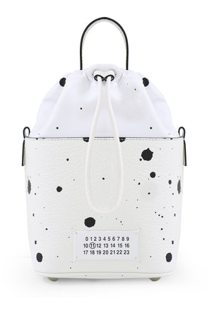 MINI 5AC SPLATTER BAG WHITE