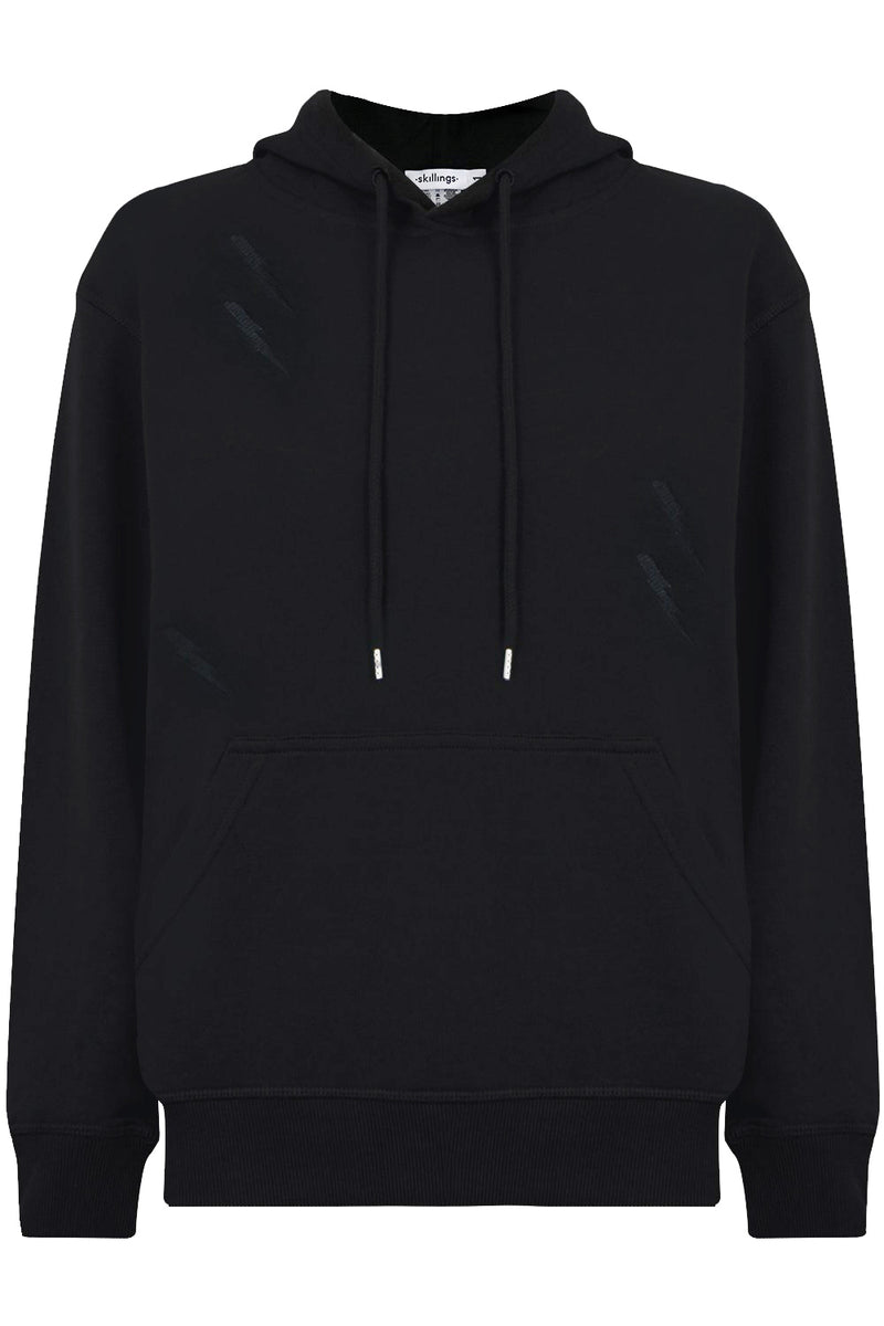 LIGHTNING BOLT HOODY BLACK