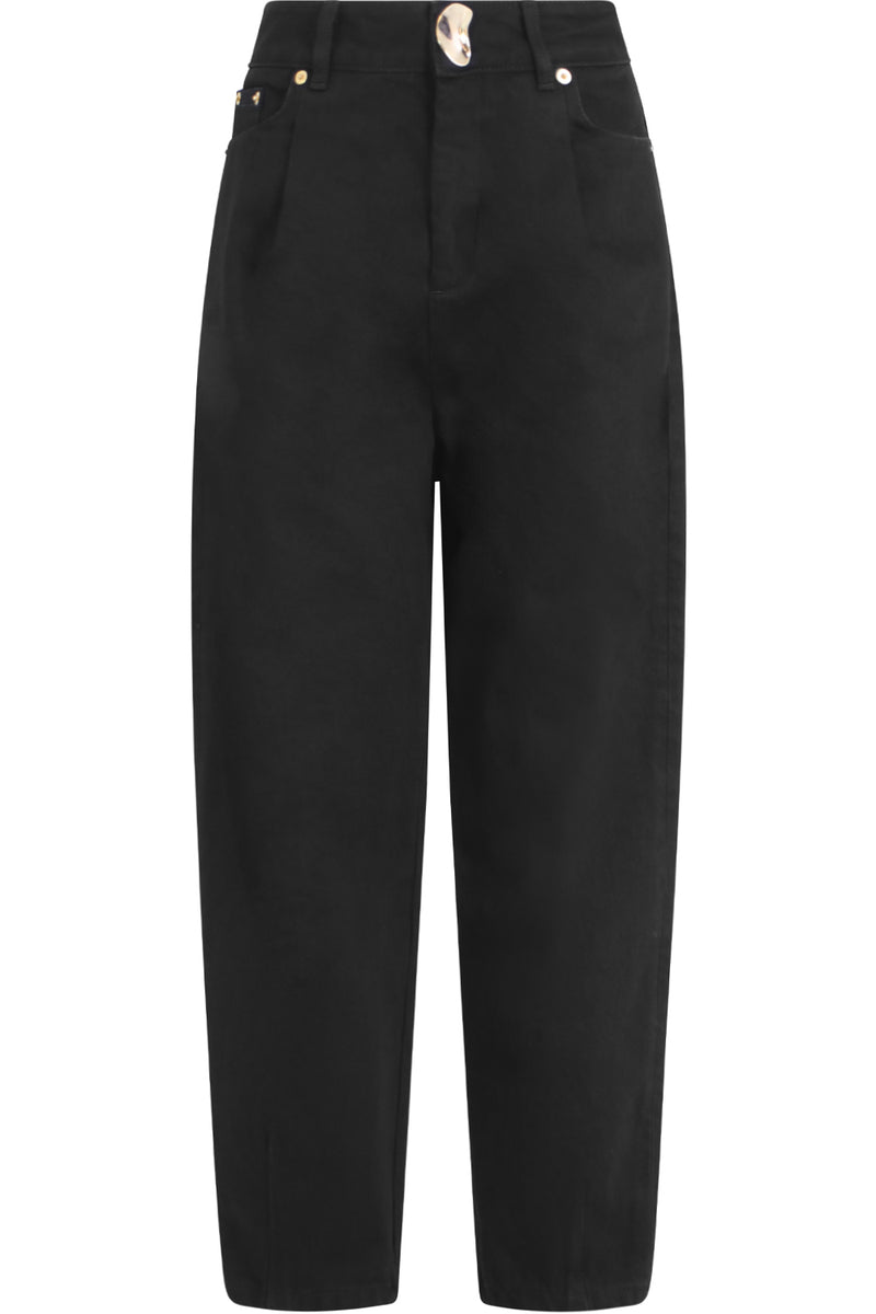JOEY TAPERED JEANS BLACK