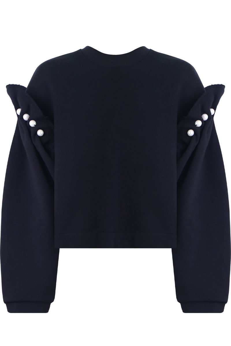DANNI PEARL SWEATER BLACK
