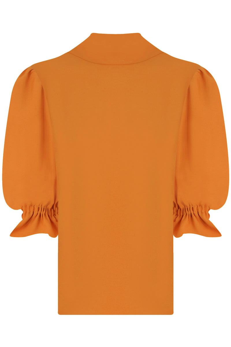 FLUID VICTORIANA BLOUSE 3/4SL ORANGE